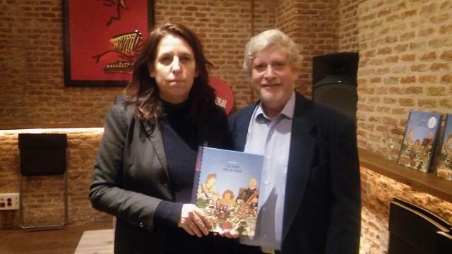 """La cena con la reina"": el cómic infantil de Rutu Modan se presenta en español"