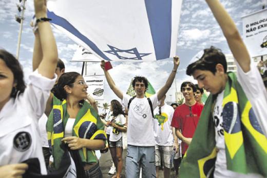 Visitas diplomáticas a lo largo de Brasil