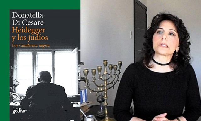 """""""Heidegger y los judíos. Los cuadernos negros"""", con su autora Donatella di Cesare"""