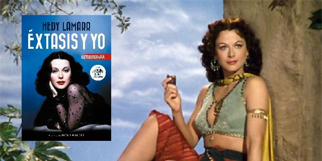 Extasiados con Hedy Lamarr, con Diego Moldes