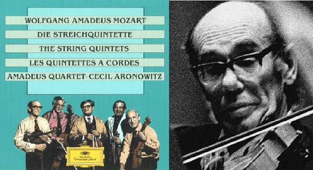 La leyenda del Cuarteto Amadeus (8): el quinteto K.516 de Mozart, con Cecil Aronowitz