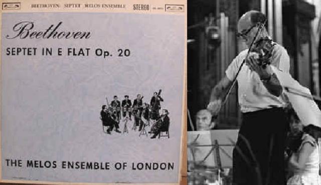 El Septeto de Beethoven con el Melos Ensemble y Cecil Aronowitz