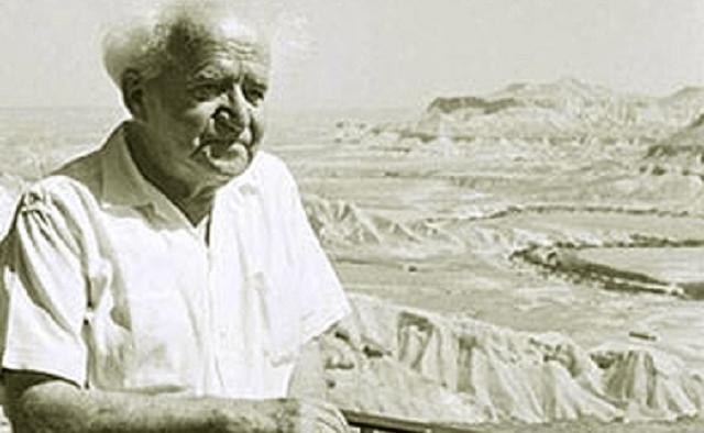 """David Ben Gurión (4ª parte): la leyenda de """"el viejo"""""""