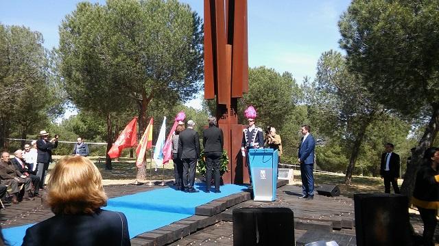 Acto de Yom haShoá (Monumento a las Víctimas del Holocausto, Madrid, 23/4/2017)