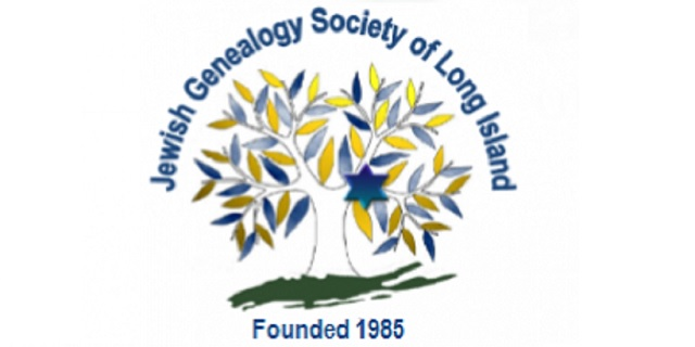 The Jewish Genealogy Society of Long Island, with Rhoda Miller