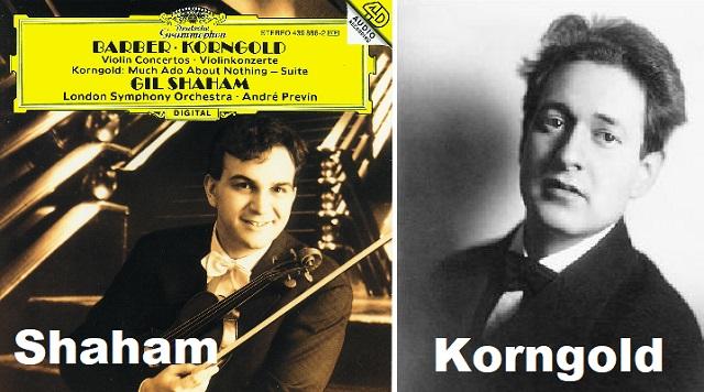 El Concierto para violín de Korngold, con Gil Shaham