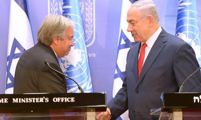 Palestinos: refugiados VIP y Guterres en Israel