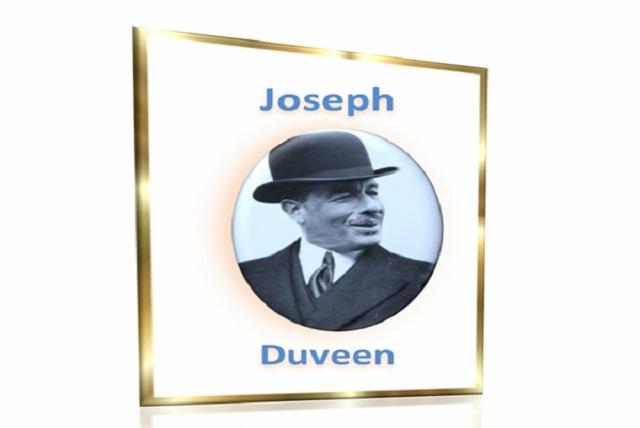 Joseph Duveen, el mayor marchante del mundo