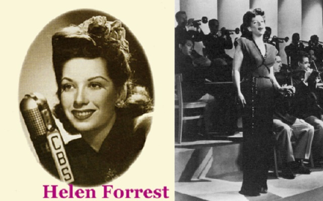 Helen Forrest: la voz de las Big Bands de renombre
