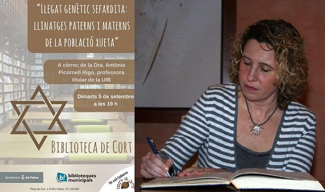 La genética de los chuetas, con Antonia Picornell Rigo