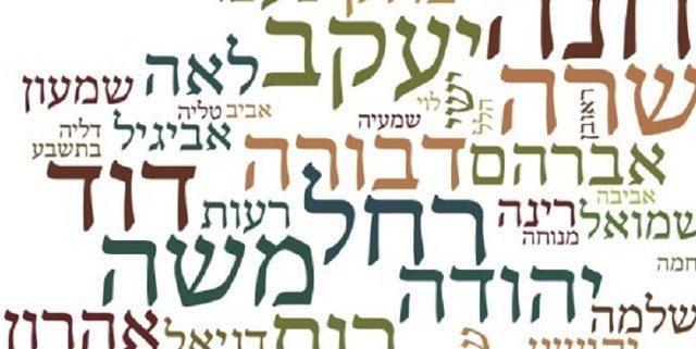 Evolución onomástica judía (III): significados simbólicos