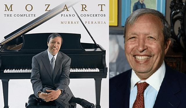 Murray Perahia y los conciertos de Mozart para piano (II): Nº3 en re mayor y Nº4 en sol mayor