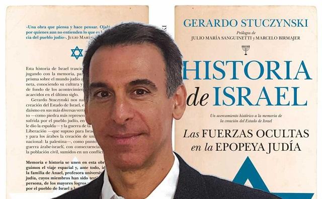 """""""Historia de Israel"""", con su autor Gerardo Stuczynski"""