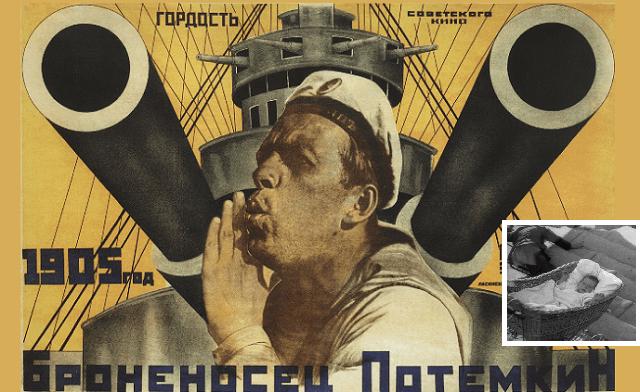 """El acorazado Potemkin"", de Sergei M. Eisenstein (1925)"