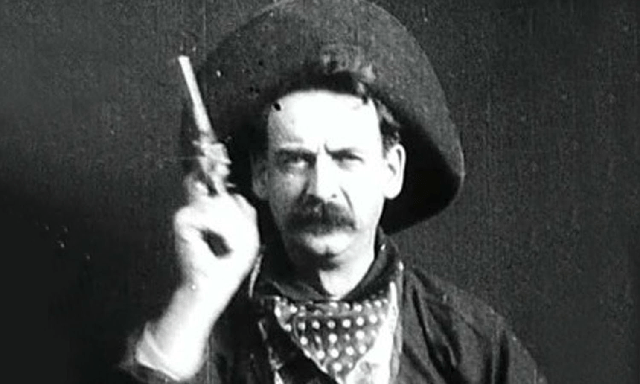 """The Great Train Robbery"", con Broncho Billy Anderson (1903)"