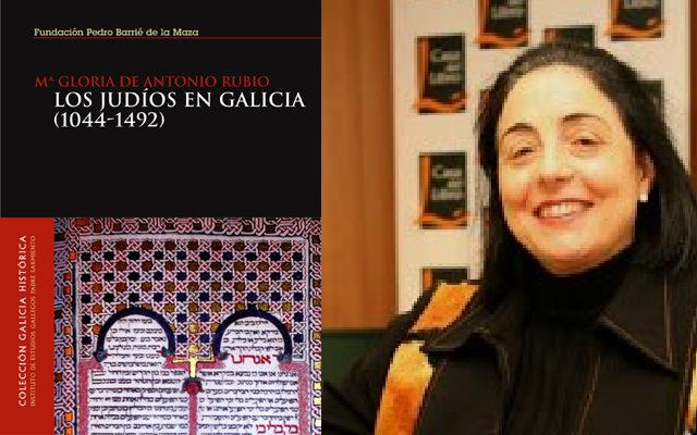 Los judíos de Galicia, con Gloria de Antonio Rubio