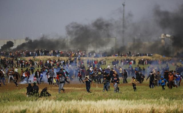 Reacciones de los periódicos españoles ante los sucesos en Gaza