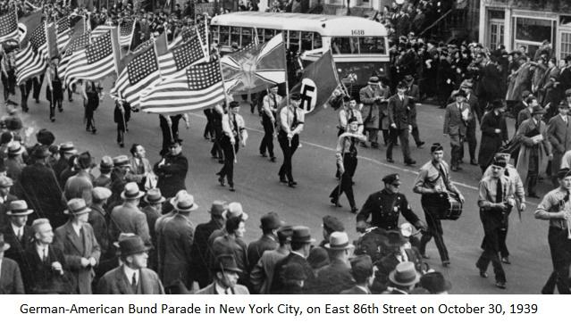 Anti-Semitism in the U.S.: The German-American Bund and the KKK, with Michael D'Innocenzo
