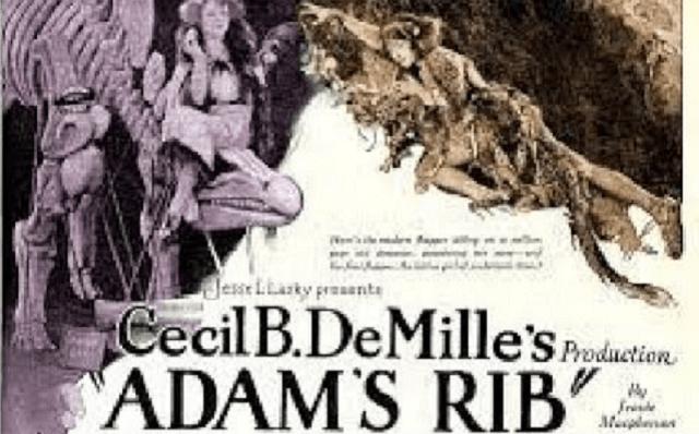 """""""La costilla de Adán"""", de Cecil B. de Mille (1923)"""