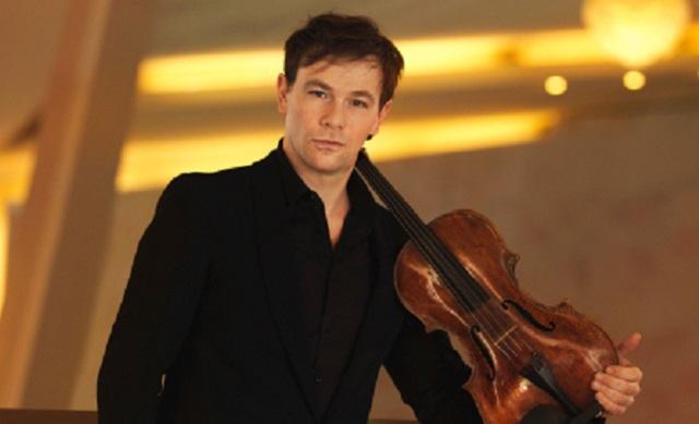 Amihai Grosz, primera viola de la Sinfónica de Berlín, toca Brahms
