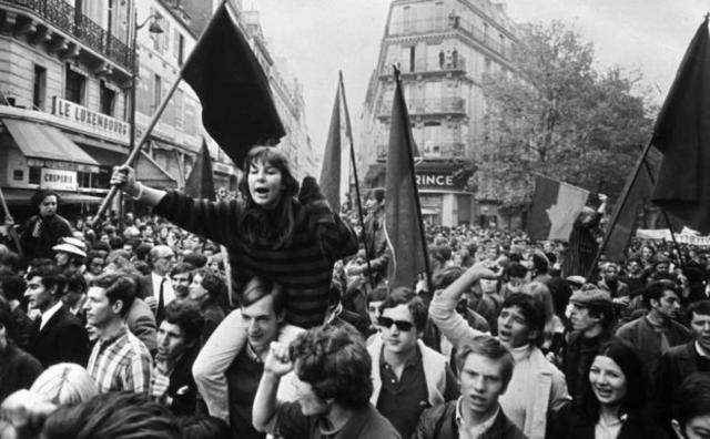 Mayo del 68: 50 años después (menos en España), con Adolfo García Ortega
