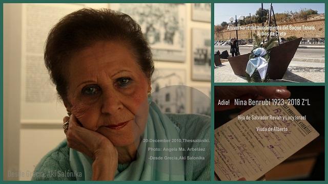 Memoria de Nina Benrubi – Recordando la tragedia del Tanaís