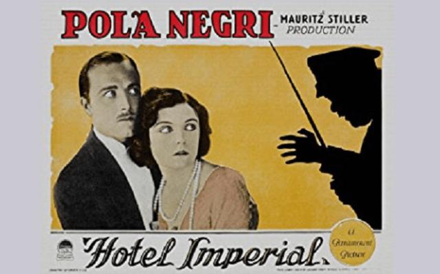 """Hotel Imperial"", de Mauritz Stiller (1927)"