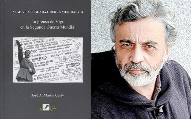 La prensa de Vigo y los judíos en la Segunda Guerra Mundial, con José Antonio Martín Curty