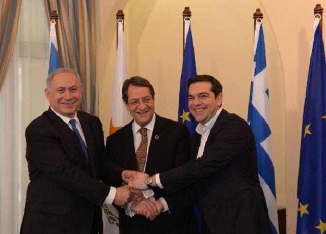 La alianza entre Chipre, Grecia e Israel