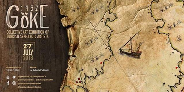 """""""1492 Göke"""", exposición de artistas sefardíes turcos en el Instituto Cervantes de Londres, con Ignacio Peyró"""