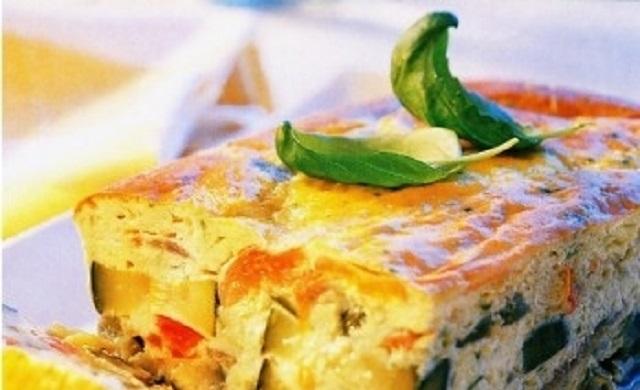 Preparando Rosh Hashaná: terrina de verduras y pudding de manzanas