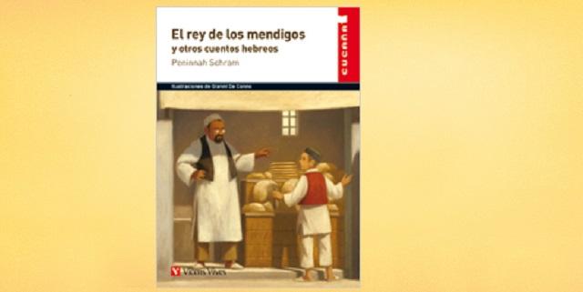 """""""El rey de los mendigos y otros cuentos hebreos"""", de Peninnah Schram, con su editor Paco Antón"""