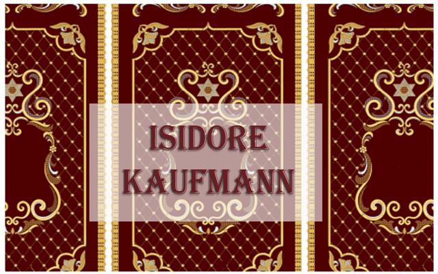 Isidore Kaufmann, y el retrato jasídico