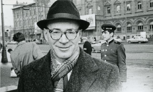 Mark Naimark, el único judío en el Instituto Steklov