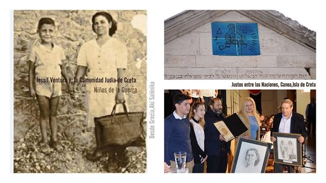 Iossif Ventura recuerda a los cretenses judíos