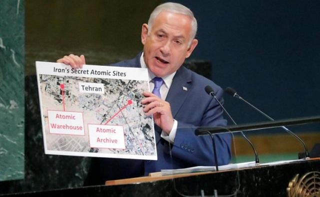 Discurso comentado de Netanyahu en la ONU el 28 de septiembre de 2018