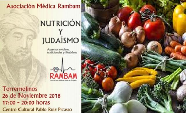 """Simposio """"Nutrición y judaísmo"""" de la Asociación Médica Rambam, con Robert Stern"""