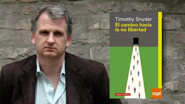 El camino hacia la no libertad de Timothy Snyder, con Joan Tarrida