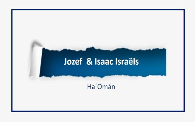 Jozef Israëls y su hijo Isaac