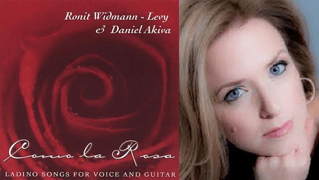 Ronit Widmann – Levy y Daniel Akiva: canciones para voz y guitarra