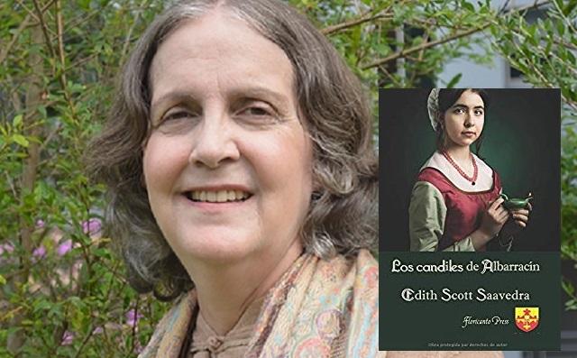 """""""Los candiles de Albarracín"""", con su autora Edith Scott Saavedra"""