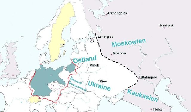 Los planes de arianización del espacio vital en el Este