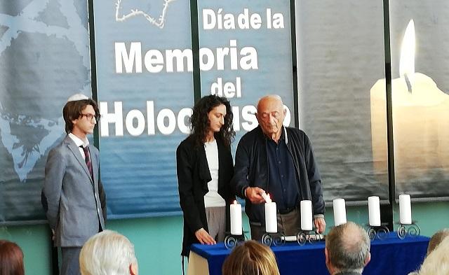 Acto de Recuerdo del Holocausto (Asamblea de Madrid, 25/1/2019)