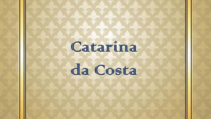 Catarina Da Costa: la sefardí que pintaba personas
