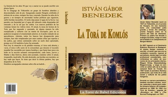 """""""La Torá de Komlós"""" de István Gábor Benedek, con su editor Juan Zapato"""