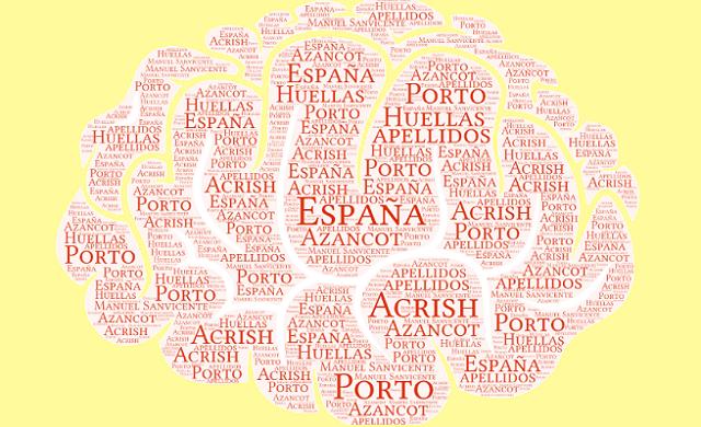 El origen de los apellidos España, Azancot, Porto y Acrish