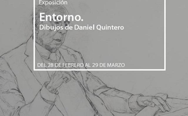 """""""Entorno"""", con su autor Daniel Quintero"""