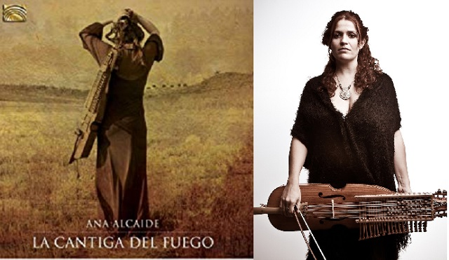 """Ana Alcaide nos presenta su trabajo """"La cantiga del fuego"""""""