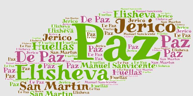 El origen de los apellidos Paz / de Paz, Elisheva, Jericó y San Martín