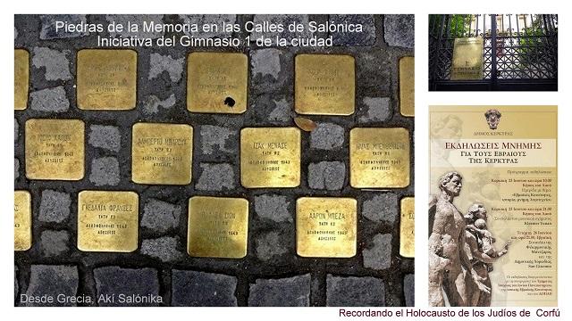 149 piedras de memoria. Corfú
